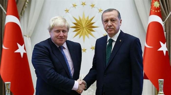 Erdogan besprach über Karabach mit Johnson