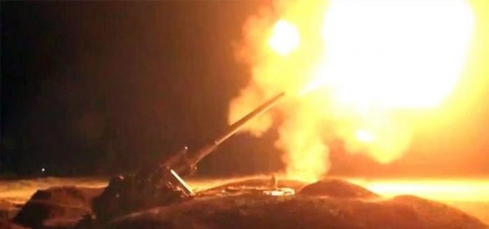 Azerbaijani army destroys Armenia's command and observation post