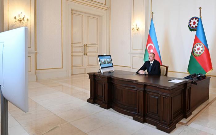 """""""Wir mussten angemessen auf den Angreifer reagieren""""-   Ilham Aliyev"""