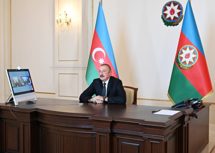 "President Ilham Aliyev responds to questions on Rossiya-1 TV channel's ""60 minutes"" program"