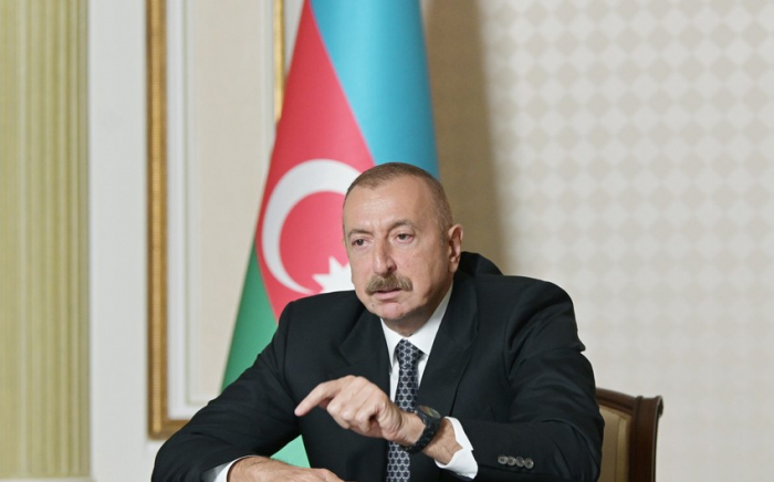 Armenian people must hold their government liable , says President Ilham Aliyev