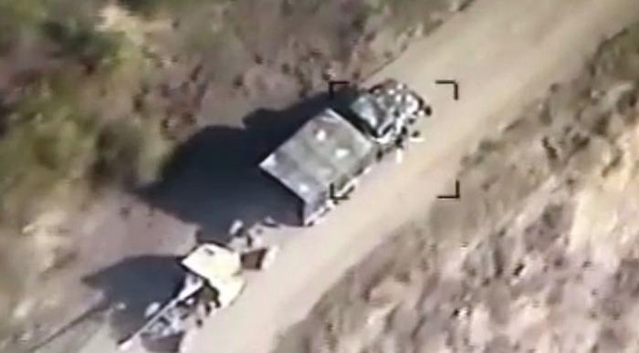 28 feindliche Militärfahrzeuge wurden zerstört - VIDEO