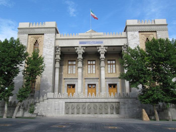 """""""Iran hat niemals zugelassen, dass Waffen und Munition durch sein Territorium transportiert werden"""""""