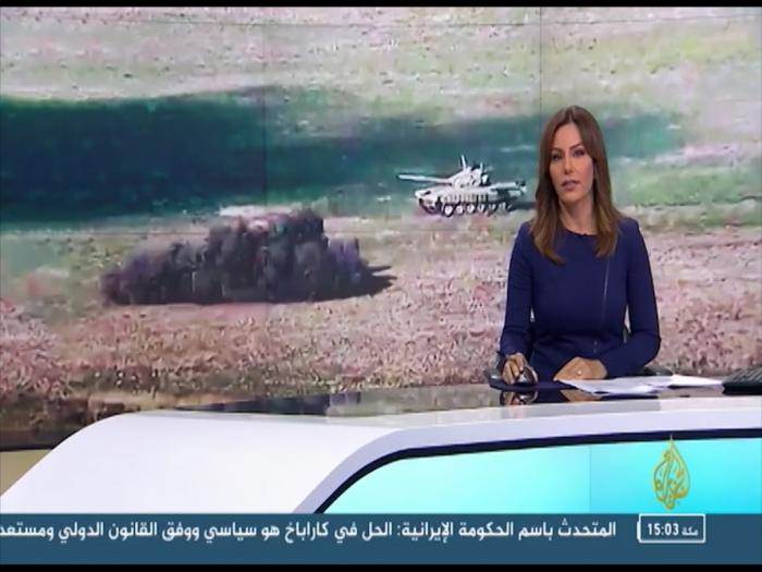 الجزيرة تبث تقريرا من الخط الأمامي - صور