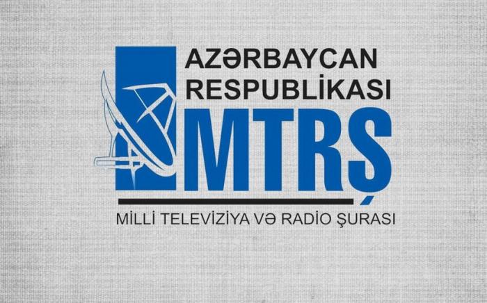 MTRŞ televiziyalara tövsiyələr verdi