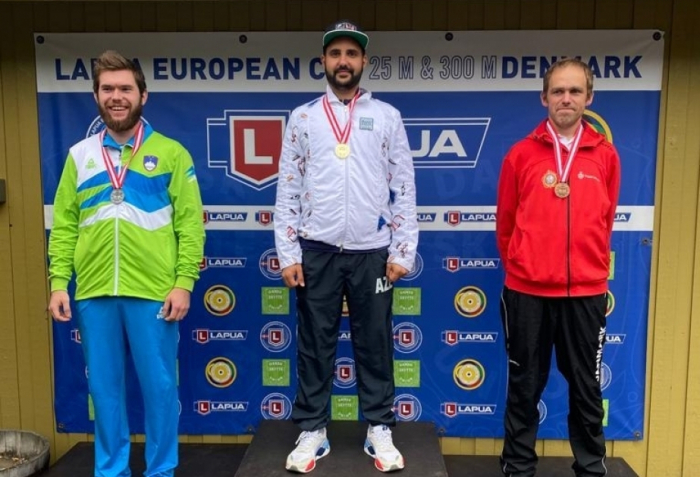 Azerbaijani shooter wins 4th qualification round of European Cup 25m