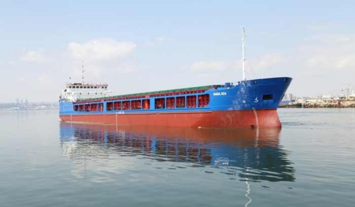"""""""Rasul Rza"""" dry cargo vesselsent to outer waters after being overhauled"""