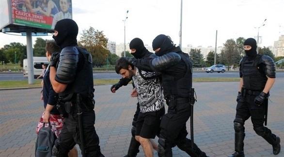 إعتقال774 متظاهراً في روسيا البيضاء