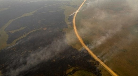 الطوارئ لمكافحة الحرائق في البرازيل