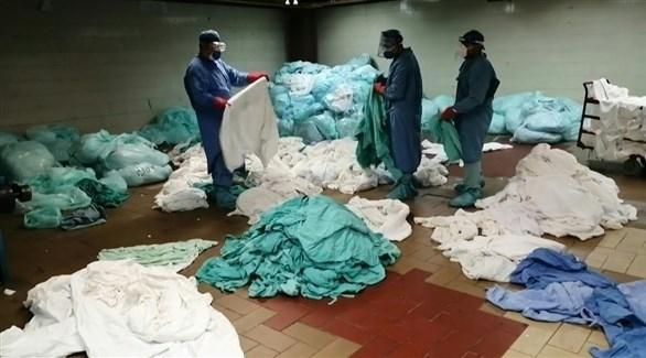 عمّال التنظيف يجازفون بحياتهم للتصدي للوباء في المكسيك