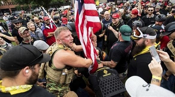 تحذير من إف بي آي حول مواجهات بين متطرفين في أمريكا