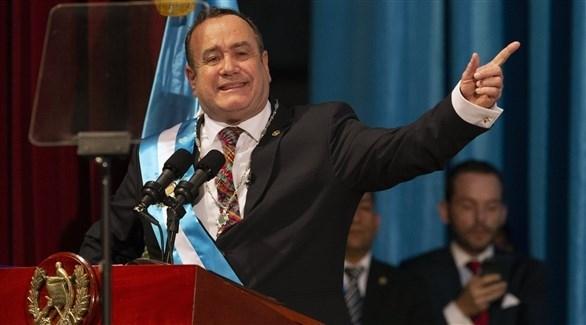 رئيس غواتيمالا يعلن إصابته بكورونا