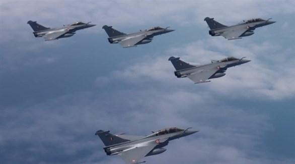 الهند تختبر مقاتلات رافال الفرنسية
