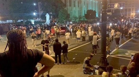 ليلة ثانية من الاحتجاجات في أمريكا على مقتل بريونا تايلور