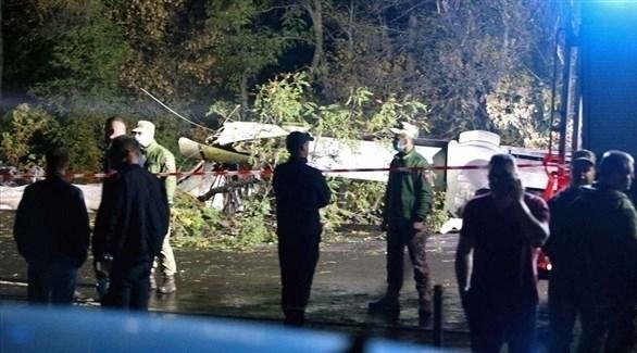 مصرع 22 شخصاً في تحطم طائرة عسكرية أوكرانية