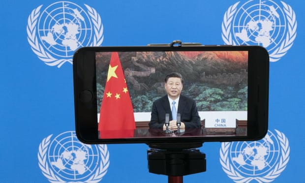 China to become carbon neutral before 2060, Xi Jinping says