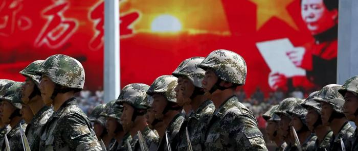لقد بدأت تتزامن مع زيارة مسؤول أمريكي رفيع المستوى إلى تايوان