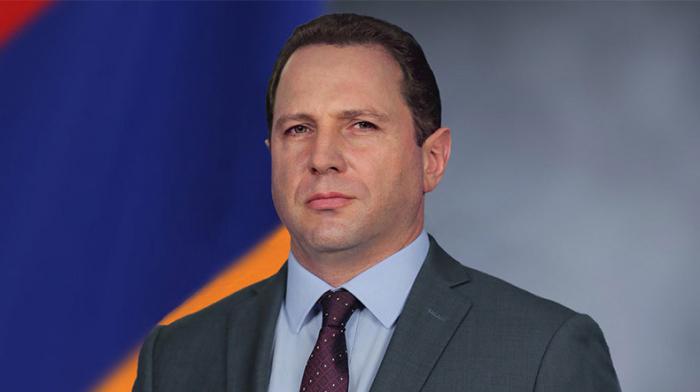 Armenian Defense Minister David Tonoyan left the country