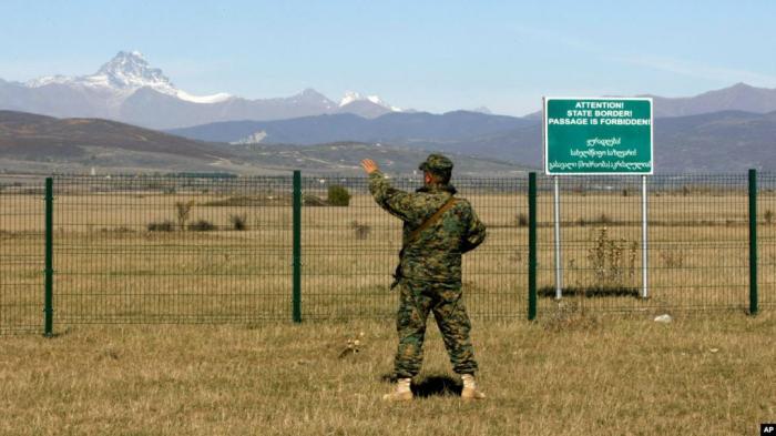 Georgian border guards refused to allow trucks with tires heading to Nagorno-Karabakh