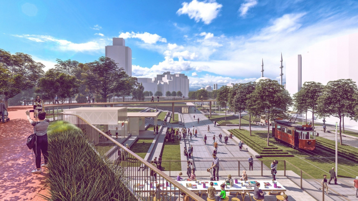 Istanbulites to decide new planning of historical Taksim Square