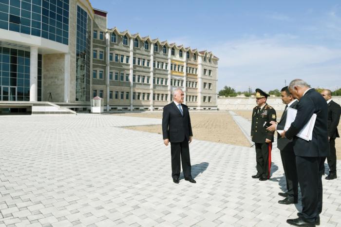 Naxçıvan Qarnizonu Mərkəzi Hospitalı üçün yeni kompleks tikilir