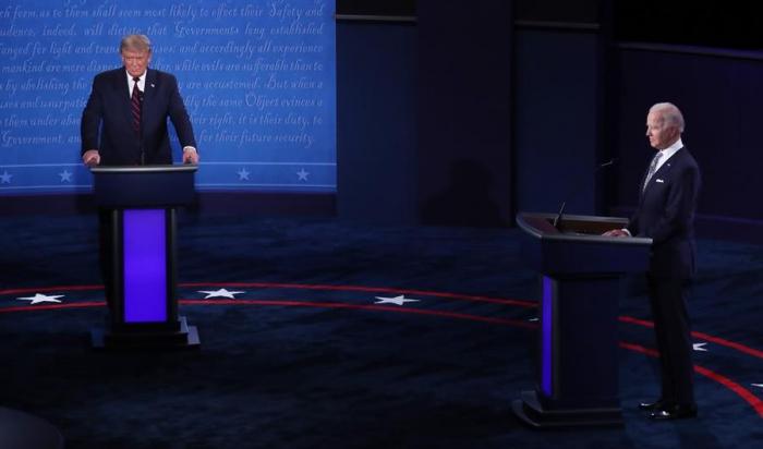 Debatda kim qalib gəldi:  Tramp, yoxsa Bayden?