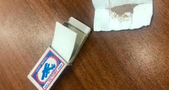Məhkumda narkotik aşkarlandı
