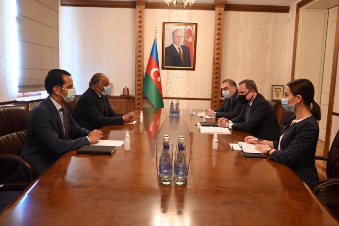 Azerbaijani FM receivesAmbassador of the Arab Republic of Egypt to Azerbaijan