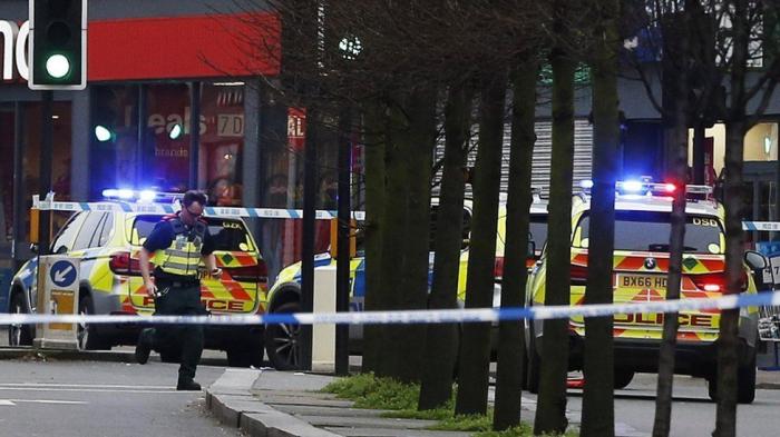 UK police officer shot dead in south London