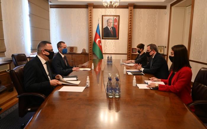 Azerbaijani FM receives Polish Ambassador