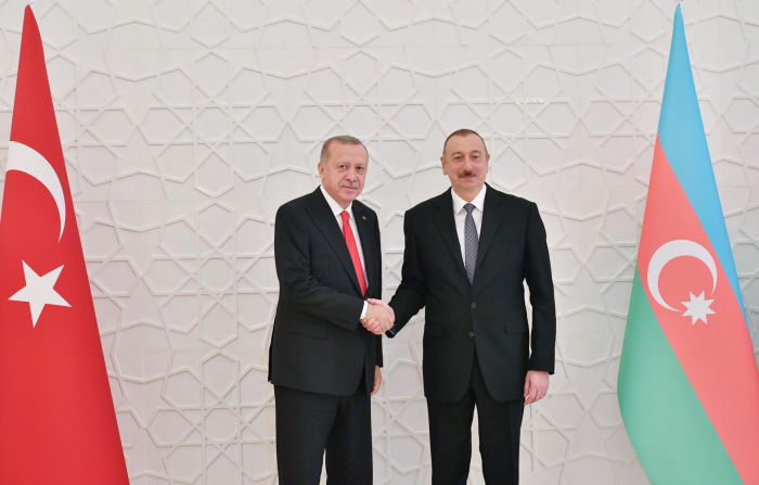 President Ilham Aliyev thanked his Turkish counterpart for support
