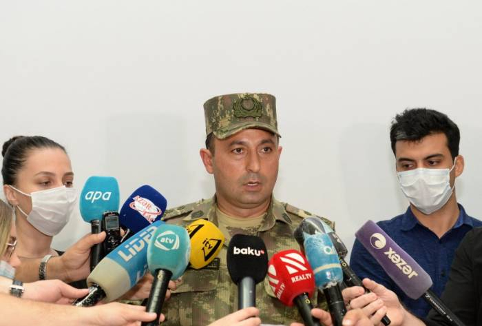 Azerbaijan continues counter-offensive operations on frontline