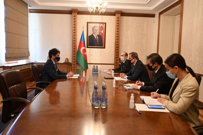 Azerbaijan's FM meets with Italian ambassador