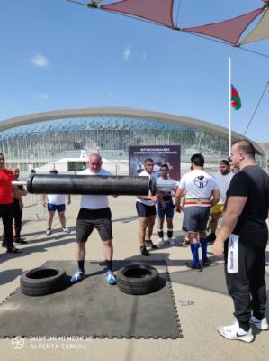 Los campeonatos de deportes de fuerza se celebran en Bakú