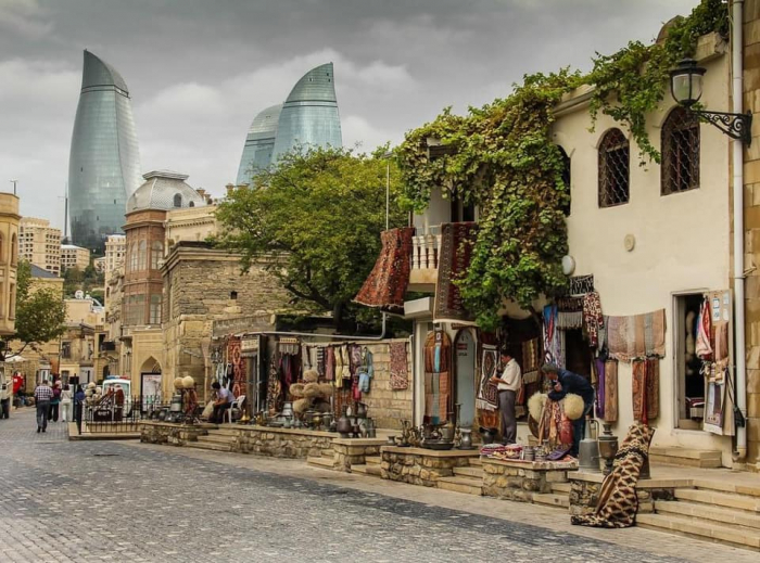 Baku in  PHOTOS: Old city, Flame Towers