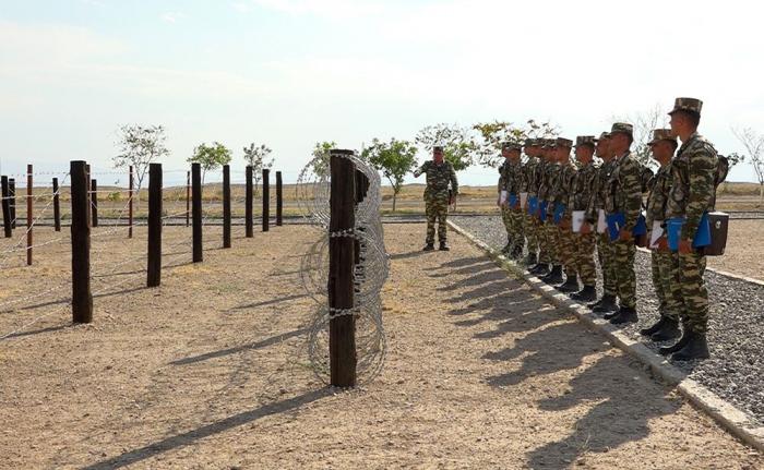 Commanders of engineer-sapper units attendtraining-methodological sessions inNakhchivan