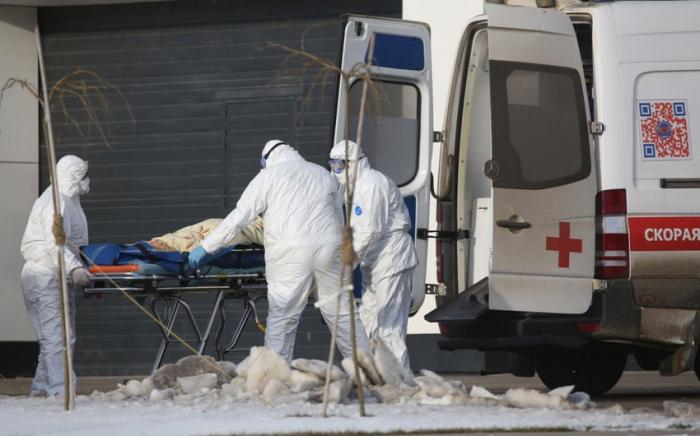 Rusiyada koronavirusdan daha 128 nəfər öldü