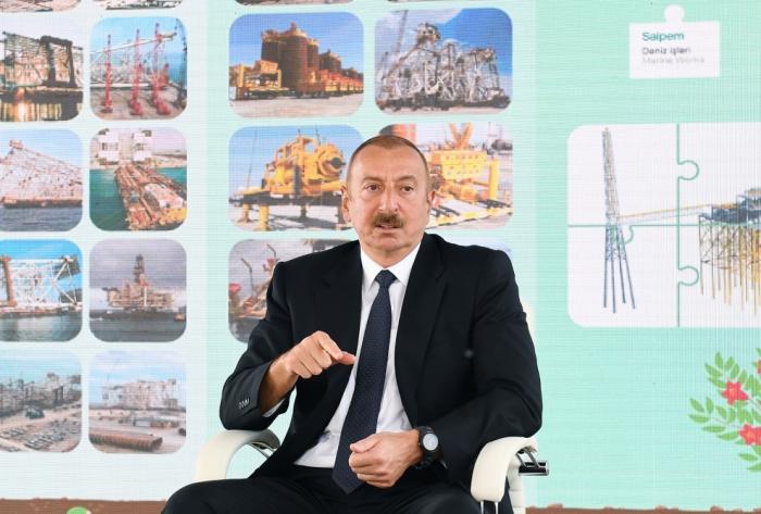 """Prezident:    """"Danışıqların hazırkı vəziyyətini mənfi qiymətləndirirəm"""""""