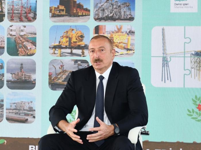 """Prezident Ermənistana xəbərdarlıq etdi:   """"Yeni dərs almaq istəyirlərsə, biz hazırıq"""" -  VİDEO"""