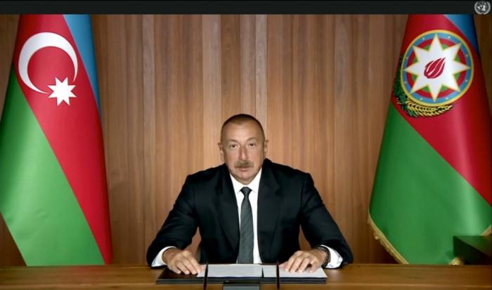 İlham Əliyev BMT-də videoformatda çıxış etdi -  VİDEO (YENİLƏNİB)