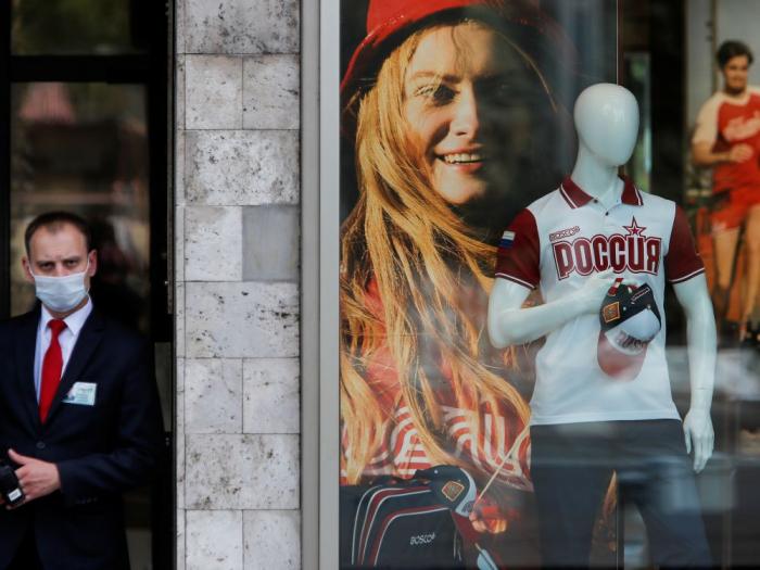 Covid-19:plus de 5.500 nouveaux cas en 24 heures enRussie