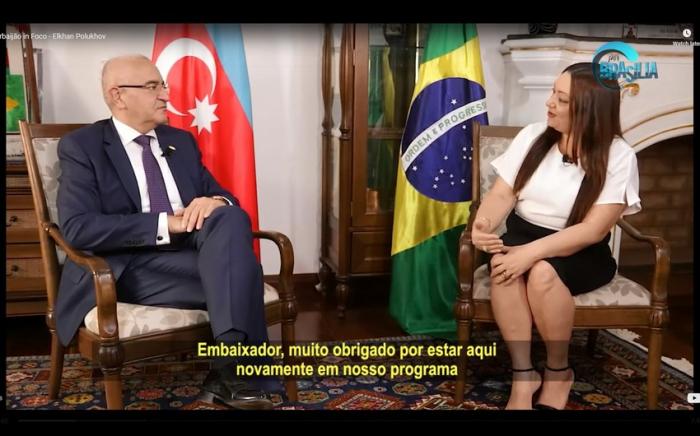 Braziliya telekanalında Ermənistanın təcavüzündən danışıldı -   VİDEO