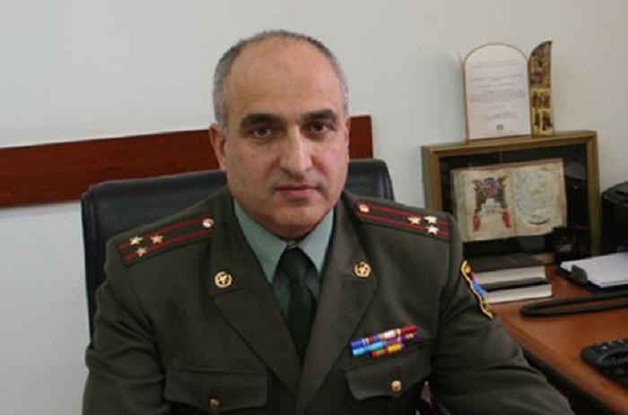 Armenischer Armeegeneral und zwei Oberst getötet -   FOTO