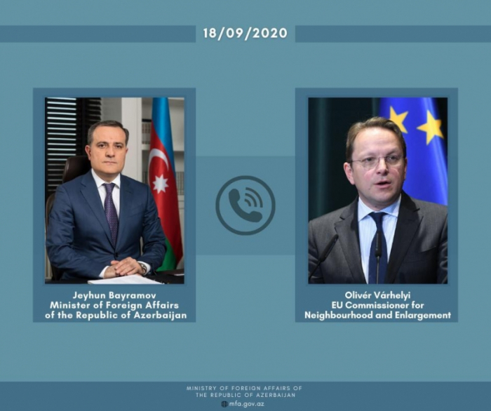 Azerbaiyán y la UE abordan la asociación estratégica por teléfono