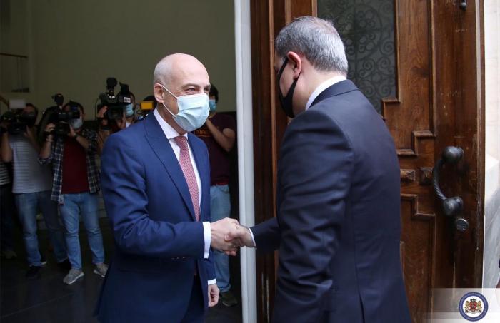 الوزير الجورجي يغرد عن أذربيجان