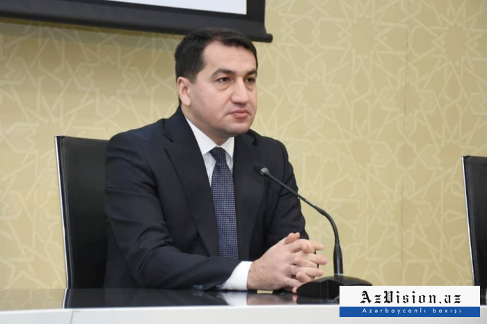 """""""Ordumuz heç bir mülki obyekti hədəfə almır"""" -   Hikmət Hacıyev"""