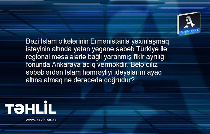 İslam Həmrəyliyinin qayçısı:    Ermənistandan cılız istifadə cəhdlərinə son qoyulmalıdır –    TƏHLİL