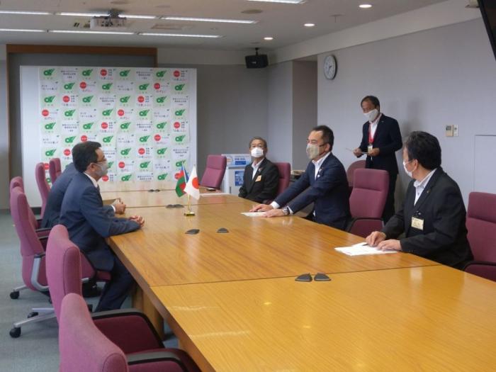 Azerbaijan's Ambassador to Japan met withGovernor of Japanese Mie Prefecture