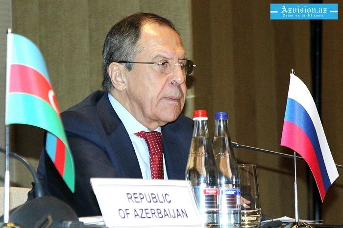 Lavrovdan Qarabağ açıqlaması:  Rusiya səylərini əsirgəmir