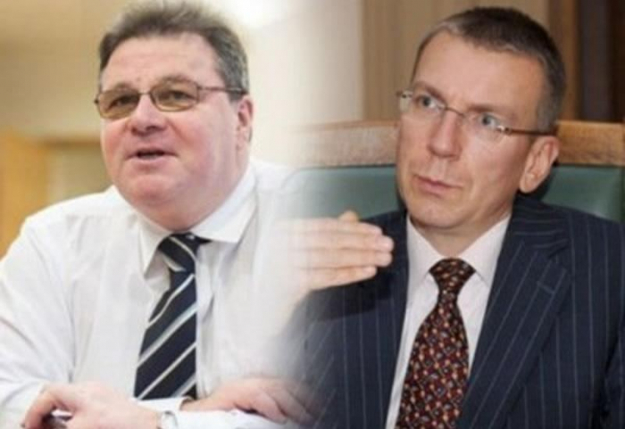 Lithuanian, Latvian FMs express concern over Armenian aggression against Azerbaijan